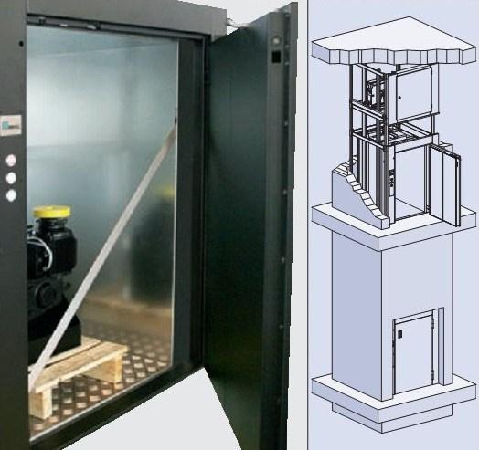 Лифт малый грузовой BKG с