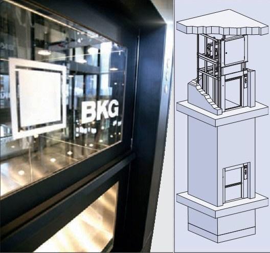 Грузовой лифт bkg